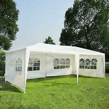10'x20' Party Tent Outdoor Gazebo Canopy Wedding 4 Removable Walls-Upgrade White