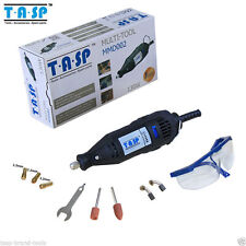 TASP 130W Dremel Electric Grinde Rotary Tool 5 Variable Speed Mini Drill glasses