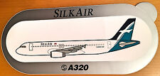 SILKAIR, A320, Sticker, Aufkleber, High Quality, neu/new, TOP & SELTEN !!!