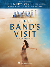 """The Band's Visit"" A New Musical-Vocal Selections MUSIC BOOK-BRAND NEW ON SALE!!"