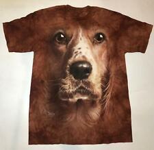 Dog American Cocker Spaniel Big Face Puppy Animal T-Shirt Mountain Cotton L-3X
