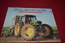 John Deere Hi-Crop Orchard Wide Row Tractor for 1992 Dealer's Brochure AMIL8