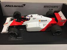 1 18 Minichamps McLaren Tag Mp4/2c World Champion Prost 1986