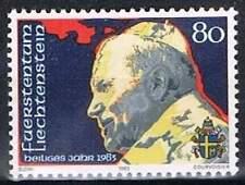 Liechtenstein postfris 1983 MNH 830 - Paus Johannes Paul II