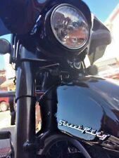 """STREET KING"" Fender / Saddlebag Emblems for Harley Davidson Road King RoadKing"