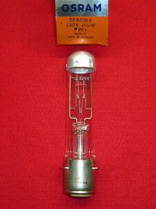 PROJEKTORLAMPE 220V 150W P28s Osram 58.8290E NEU OVP Lampe Projektor 588290 E