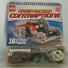 Klutz LEGO Crazy Action Contraptions Building Kit Set