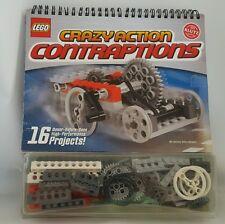 Klutz LEGO Crazy Action Contraptions Building Kit Set