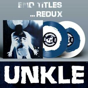 UNKLE | End Titles... Redux | PRE-ORDER 2 x 10'' BLUE WHITE Signed James Lavelle