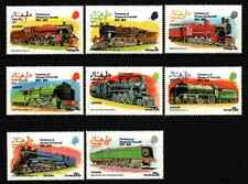 DHUFAR / OMAN 1974 - SET TRAINS / RAILWAY MNH