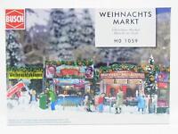 LOT 13416 | Busch HO 1059 Weihnachtsmarkt Markt Christmas Market Bausatz NEU OVP