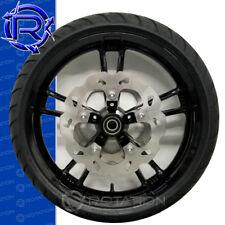 Harley Davidson Street Glide Take Off Black Wheel Tire Front Rotors 08-Up Bagger