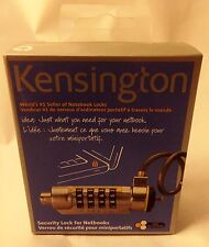 New Kensington Combination Lock for Laptop and Notebook