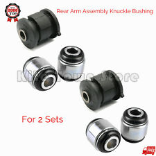 2 Sets Rear Arm Assembly Knuckle Bushing For TOYOTA HIGHLANDER CAMRY LEXUS RX-