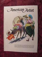 AMERICAN ARTIST May 1962 Hardie Gramatky Don Lord Sanford Brooks FrankMetz