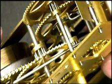 Clock Repair DVD Video - Gilbert Time & Strike Mantel Clock Repair Video