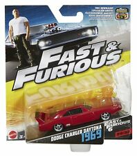 Fast and Furious Diecast Vehicle Choose Your Favourite Dodge Charger Daytona 1969