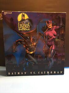 "Batman Vs. Catwoman ""Legends of Batman Series"" New, 12"" Action Figure Set -1-"