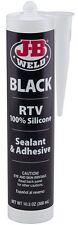JB Weld 31919 Black RTV Silicone Sealant and Adhesive - 10.3 oz