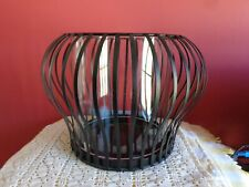 PartyLite Linear Lites Large 3 wick Pillar holder