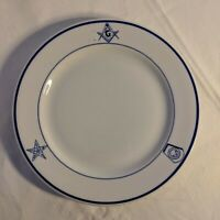 Masonic Freemason Royal Arch Eastern Star Buffalo China Plate 1 of 6 Available