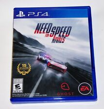 Replacement Case (NO GAME) Need For Speed Rivals PlayStation 4 PS4 Box