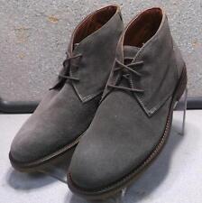 251567 MSBT50 Men's Shoes Size 8 M Grey Suede Lace Up Boots Johnston Murphy