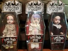 """Living Dead Dolls, The Deaver the Better - (3) Different 5"""" Tall Dolls"""