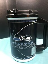 Seattle Seahawks NFL 20oz Insulated Drink Mug & lid. Whirly Made In USA! NEW