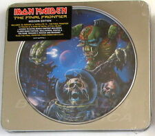 IRON MAIDEN - THE FINAL FRONTIER Mission Edition - CD Tin  Box Sigillato