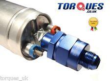 Un -8 (8AN An8) Bosch 044 910 Bomba De Combustible Outlet válvula de retención en Billet Aluminio