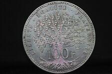 100 Francs PANTHEON 1982;argent//LA65