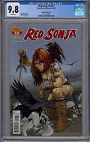 Red Sonja #1 CGC 9.8 NM/MT Dynamite 2013 Fiona Staples Variant Gail Simone HTF