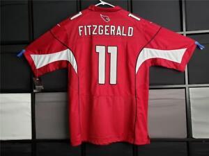 NFL ARIZONA CARDINALS LARRY FITZGERALD #11 NIKE JERSEY SIZE 56 XXXL 3XL SEWN NWT