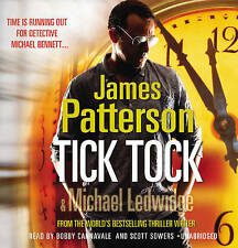 Tick, Tock: (Michael Bennett 4) by James Patterson (CD-Audio, 2011) Unabridged