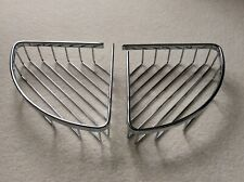 Two Chrome Shower Baskets