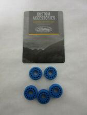 "Mathews custom dampening accessories Rubber roller BLUE 5 pack 3/4"" diameter"