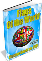 FLAGS OF THE WORLD - 50 Vintage Books on DVD - Stars and stripes, union jack