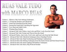 Vale Tudo (14) Dvd Set striking takedowns guard attacking foot knee ankle locks