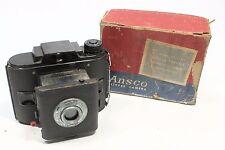 Vintage Ansco PD16 Clipper Camera in Original Box -USE 120 Film on 616 Spool-