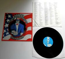 M.O.D. - U.S.A. For M.O.D. 1987 German Noise International LP with Inner