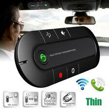 Wireless bluetooth Handsfree Car Speaker Phone Visor Auto Kit Speakerphone MP3