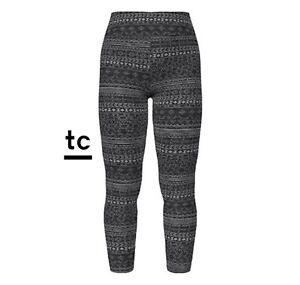 New Release LuLaRoe TC Leggings Gorgeous Black And Gray Aztec Print