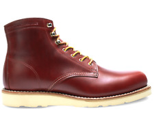 """WOLVERINE ORIGINAL 1000 MILE MADE IN USA W40587 6"""" WEDGE RED BOOTS 7.5 M"""
