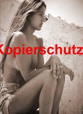 Frau Nackt Akt in Sepia Foto XII POSTKARTE 10,5 x 14,8 cm (DIN A 6)