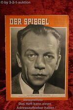Der Spiegel Zum Geburtstag 11/56 14.3.1956 August-Martin Euler