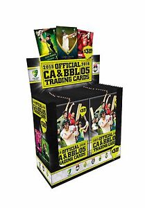 2015/16 Tap N Play CA & BBL Cricket Sealed Box Trading Cards