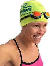 New Wave Fusion 2.0 - Swim Goggles for Triathlon & Open Water Swimming - Bonfire