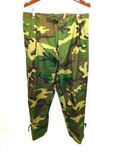 Military Army M Trousers Extended Cold Weather Woodland Camo Camouflage Pants