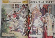LA DOMENICA DEL CORRIERE 30 giugno 1963 Paolo VI Segregazione razziale Paone